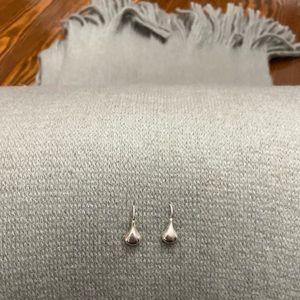 Silpada Silver French Wire Drop Earrings